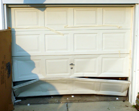 Bad Garage Door Panel