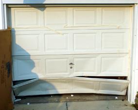 Bad Garage Door Panel