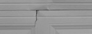 Cracked panel