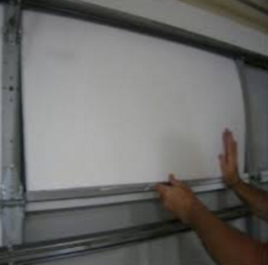Garage Door panel replacement 1